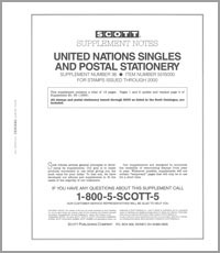 UNITED NATIONS 2000 (20 PAGES) #36