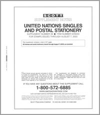 UNITED NATIONS 2003 (28 PAGES) #39