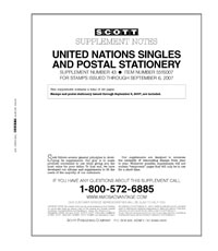 UNITED NATIONS 2007 (30 PAGES) #43