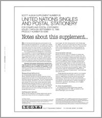 UNITED NATIONS 1990 (9 PAGES) #26