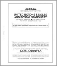 UNITED NATIONS 1996 (8 PAGES) #32