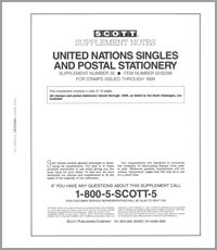 UNITED NATIONS 1999 (19 PAGES) #35