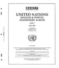 UNITED NATIONS 1951-1987 (111 PAGES)