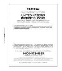 UN IMPRINT BLOCKS 2008 (12 PAGES) #57
