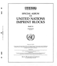 UN IMPRINT BLOCKS 1963-1970 (55 PAGES)
