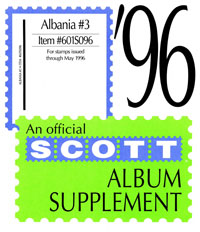 ALBANIA 1996 (6 PAGES) #3