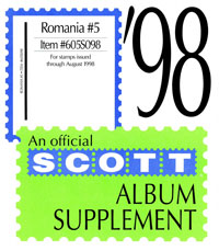 ROMANIA 1998 (7 PAGES) #5