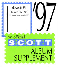 SLOVENIA 1997 (7 PAGES) #3
