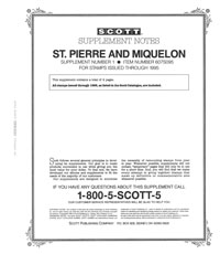 ST. PIERRE & MIQUELON 1995 (5 PAGES) #1