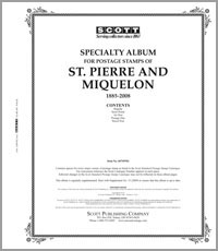 ST. PIERRE & MIQUELON 1885-2008 (101 PAGES)