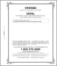 NEPAL 2003 (3 PAGES) #8