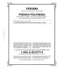 FRENCH POLYNESIA 1994 (4 PAGES) #1