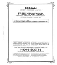 FRENCH POLYNESIA 1997 (4 PAGES) #4