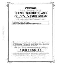 FRENCH SOUTH & ANTARCTIC TERRITORIES 1998 (3 PAGES) #4