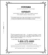KIRIBATI 2003 (6 PAGES) #8