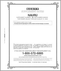 NAURU 2002 (5 PAGES) #8