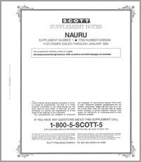 NAURU 1991-1994 (5 PAGES) #1