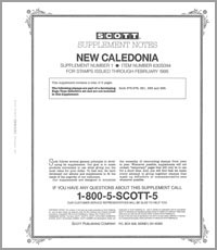 NEW CALEDONIA 1994 (7 PAGES) #1