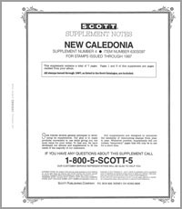 NEW CALEDONIA 1997 (8 PAGES) #4