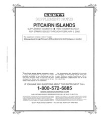 PITCAIRN ISLANDS 2001 (5 PAGES) #8