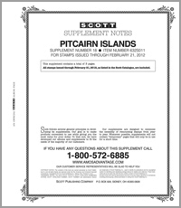 PITCAIRN ISLANDS 2011 (4 PAGES) #18
