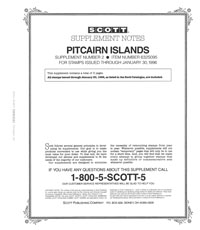 PITCAIRN ISLANDS 1995 (4 PAGES) #2