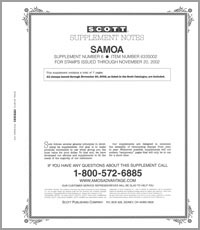 SAMOA 2000-2002 (8 PAGES) #6