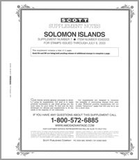 SOLOMON ISLANDS 2003 (5 PAGES) #7