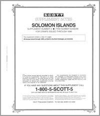 SOLOMON ISLANDS 1998 (4 PAGES) #3