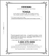 TONGA 2002 (4 PAGES) #8