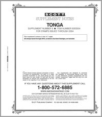 TONGA 2003-2004 (8 PAGES) #9