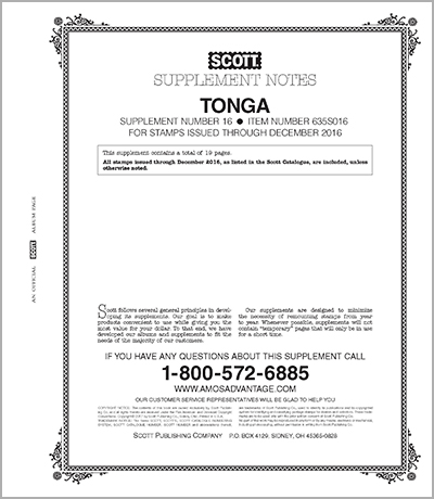 TONGA 2016 (20 PAGES) #16
