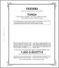 TONGA 1994 (5 PAGES) #1