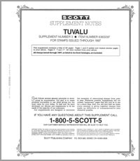 TUVALU 1996-1997 (21 PAGES) #3