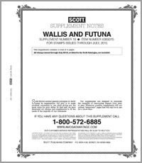 WALLIS & FUTUNA 2015 (3 PAGES) #18