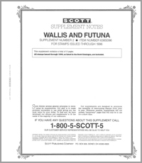 WALLIS & FUTUNA 1996 (3 PAGES) #2