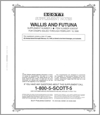 WALLIS & FUTUNA 1997 (4 PAGES) #3