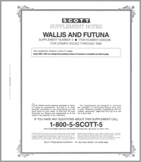 WALLIS & FUTUNA 1998 (3 PAGES) #4