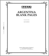 BLANK PAGES: ARGENTINA (20 PAGES)