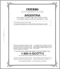 ARGENTINA 1998 (6 PAGES) #5
