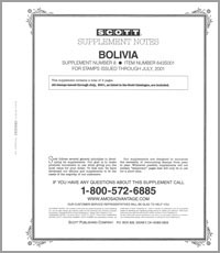 BOLIVIA 2001 (3 PAGES) #8