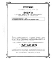 BOLIVIA 2007 (8 PAGES) #13
