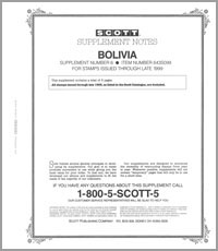 BOLIVIA 1999 (6 PAGES) #6