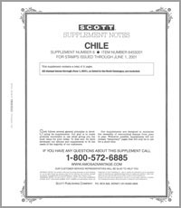 CHILE 2001 (3 PAGES) #8