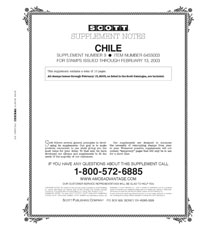 CHILE 2002-2003 (11 PAGES) #9