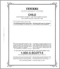 CHILE 1994 (8 PAGES) #1