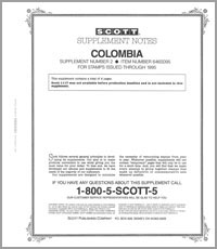 COLOMBIA 1995 (5 PAGES) #2
