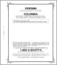 COLOMBIA 1998 (3 PAGES) #5