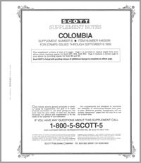 COLOMBIA 1999 (5 PAGES) #6