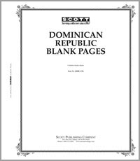 BLANK PAGES: DOMINICAN REPUBLIC (20 PAGES)